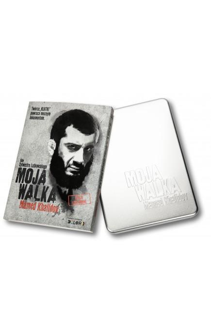 Okładka płyty DVD moja walka Mamed Khalidov