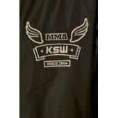 Haft z logo KSW na kurtce bomberce KSW London zielonej