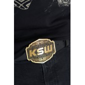 Leather Belt  with a KSW buckle