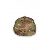 tył czapki FLEXFIT KSW moro z haftowanym logo