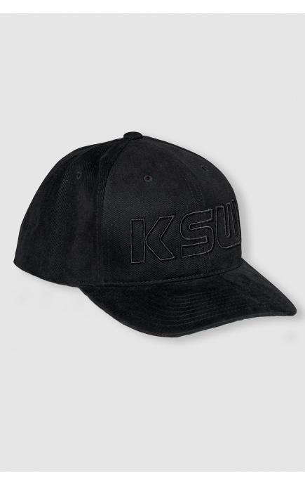 Czapka czarna BASEBALL KSW