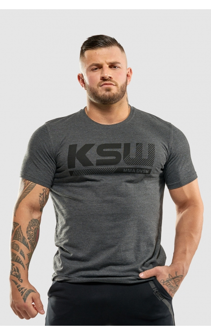 T-shirt grey KSW