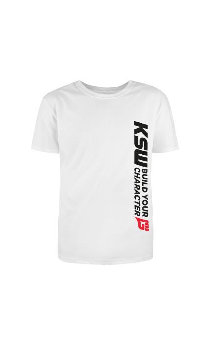 T-shirt biały KSW CLUB