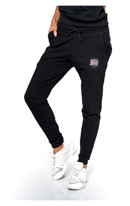 Spodnie czarne KSW ORIGINAL