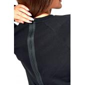 Suwak bluzy damskiej KSW ORIGINAL z nadrukiem czarnej