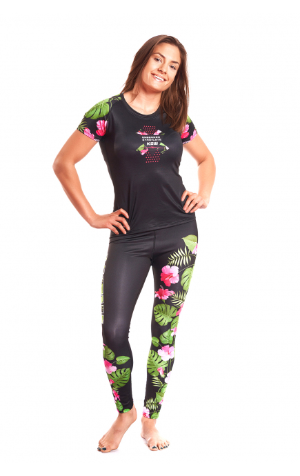 WOMENS RASHGUARD KSW JUNGLE