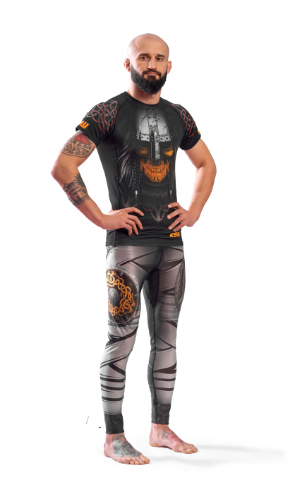 MENS SPORTS LEGGINGS KSW MAD VIKING