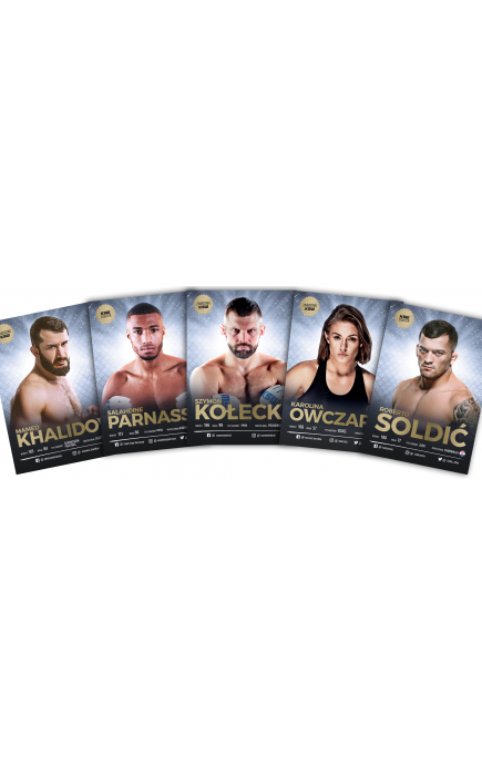 KSW FIGHTERS CARDS PACK