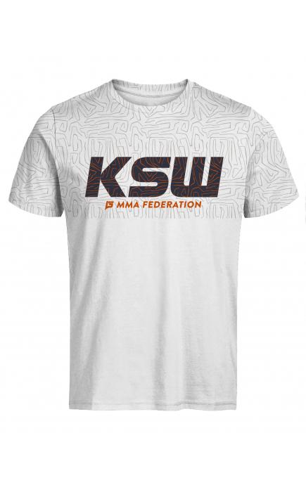T-shirt męski KSW MARKER