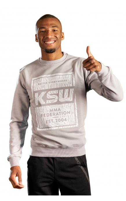 Bluza bez kaptura KSW STAMP