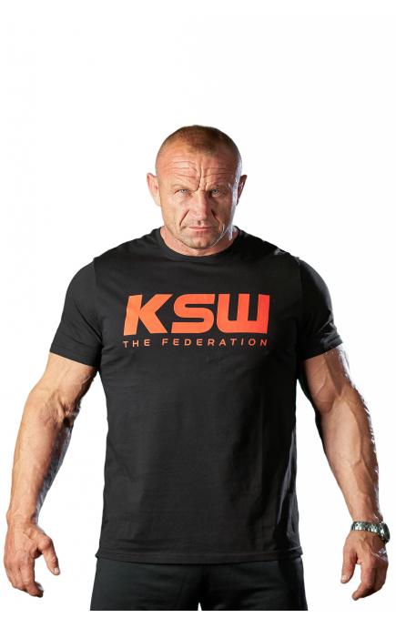 T-shirt męski KSW THE LOGO
