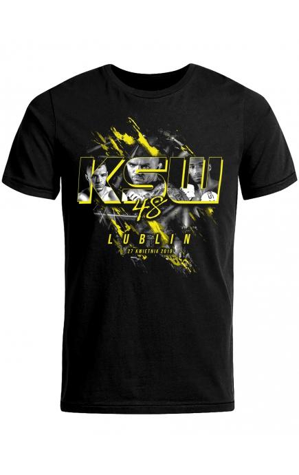 T-shirt okolicznościowy KSW 48