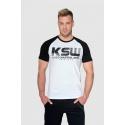 T-shirt biały KSW...