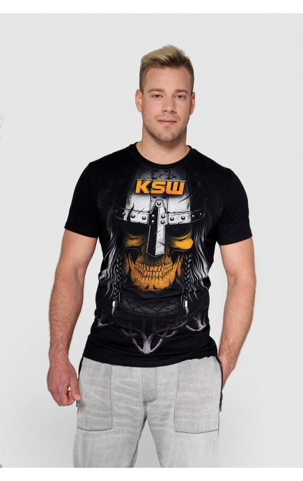 T-shirt czarny Mad Viking