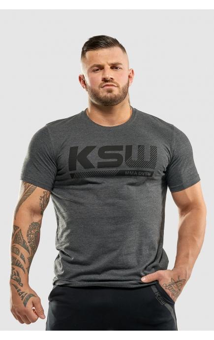 T-shirt KSW GREY